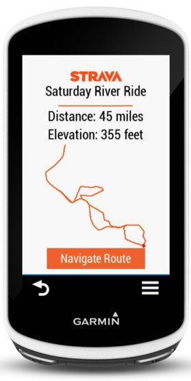 Strava Routes Connect IQ